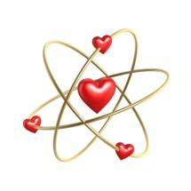 800x800 heart atom