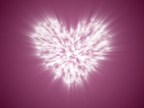 blurred heartlights