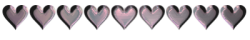 pink hearts bar