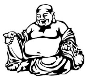 "Hotei ""Buddha Belly"" vector"